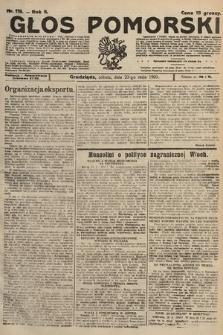 Głos Pomorski. 1925, nr119