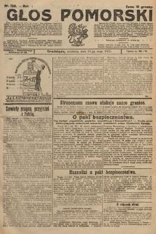 Głos Pomorski. 1925, nr120