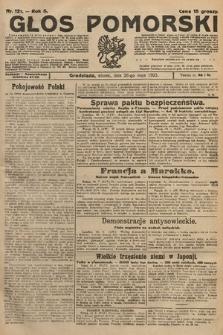 Głos Pomorski. 1925, nr121