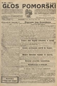 Głos Pomorski. 1925, nr122