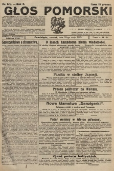 Głos Pomorski. 1925, nr123