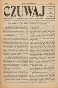 Czuwaj : czasopismo tarnowskiej młodzieży harcerskiej. 1919, nr5