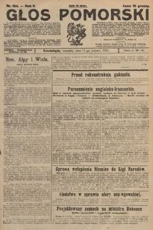 Głos Pomorski. 1925, nr134