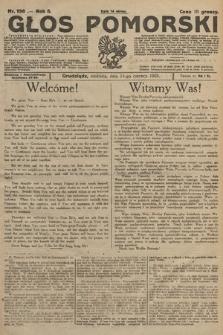 Głos Pomorski. 1925, nr136