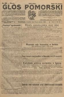 Głos Pomorski. 1925, nr139