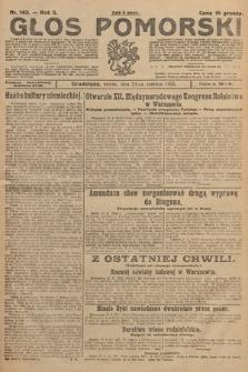Głos Pomorski. 1925, nr143
