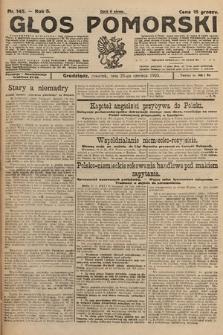 Głos Pomorski. 1925, nr145