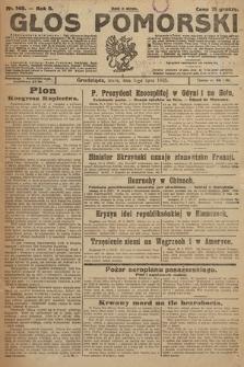 Głos Pomorski. 1925, nr149