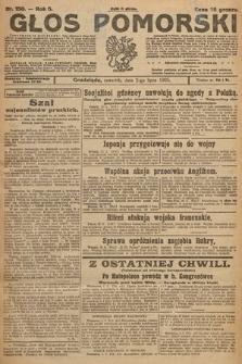 Głos Pomorski. 1925, nr150