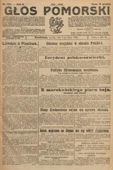 Głos Pomorski. 1925, nr152