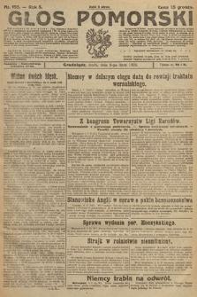 Głos Pomorski. 1925, nr155