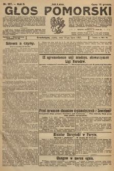 Głos Pomorski. 1925, nr157