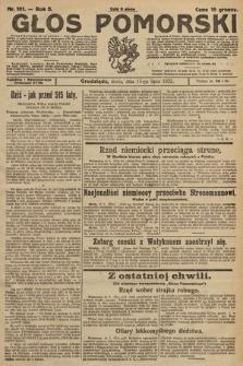 Głos Pomorski. 1925, nr161