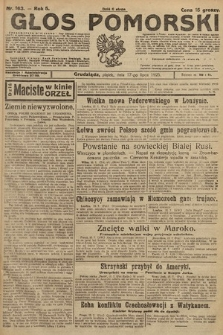 Głos Pomorski. 1925, nr163