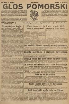 Głos Pomorski. 1925, nr164