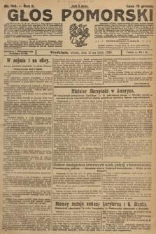 Głos Pomorski. 1925, nr166
