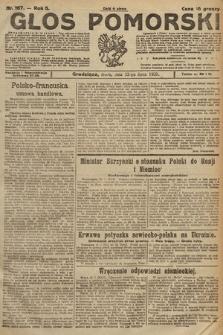 Głos Pomorski. 1925, nr167