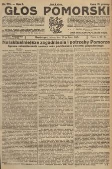 Głos Pomorski. 1925, nr170