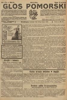 Głos Pomorski. 1925, nr171