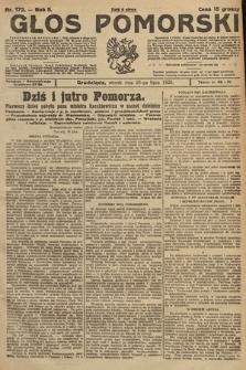 Głos Pomorski. 1925, nr172