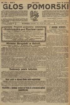 Głos Pomorski. 1925, nr174