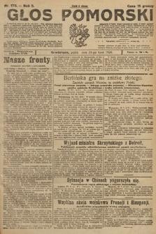 Głos Pomorski. 1925, nr175