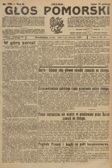 Głos Pomorski. 1925, nr176