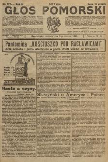 Głos Pomorski. 1925, nr177