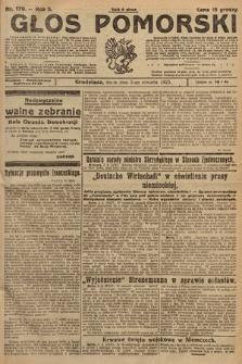 Głos Pomorski. 1925, nr179