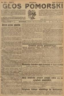 Głos Pomorski. 1925, nr180