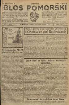 Głos Pomorski. 1925, nr183