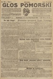 Głos Pomorski. 1925, nr185
