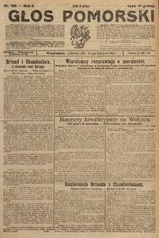 Głos Pomorski. 1925, nr186