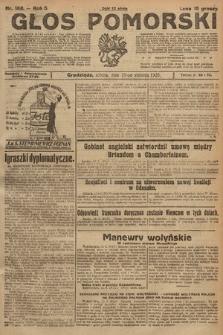 Głos Pomorski. 1925, nr188