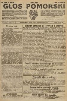 Głos Pomorski. 1925, nr189