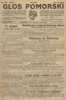 Głos Pomorski. 1925, nr192