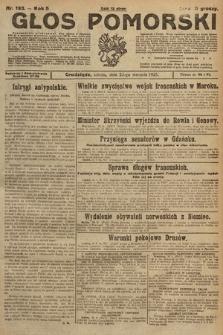 Głos Pomorski. 1925, nr193