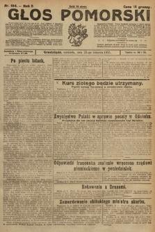 Głos Pomorski. 1925, nr194