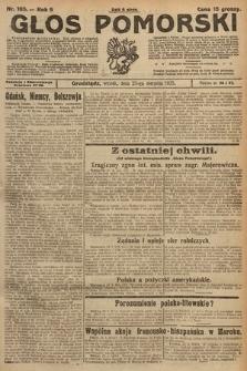 Głos Pomorski. 1925, nr195