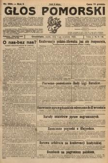 Głos Pomorski. 1925, nr204