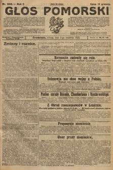 Głos Pomorski. 1925, nr205