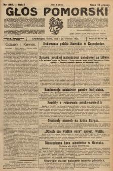 Głos Pomorski. 1925, nr207