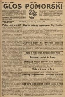 Głos Pomorski. 1925, nr208