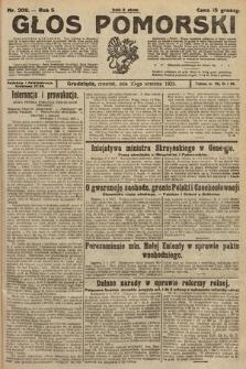 Głos Pomorski. 1925, nr209