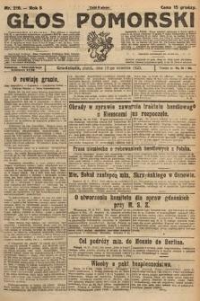 Głos Pomorski. 1925, nr216