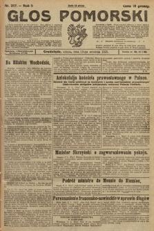 Głos Pomorski. 1925, nr217