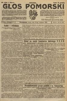 Głos Pomorski. 1925, nr226