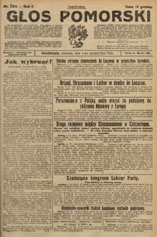 Głos Pomorski. 1925, nr230