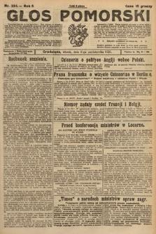 Głos Pomorski. 1925, nr231