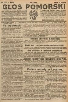 Głos Pomorski. 1925, nr237